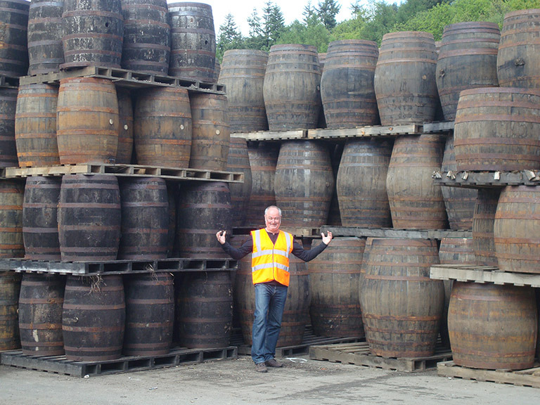 7 Whisky Barrel Collection.JPG